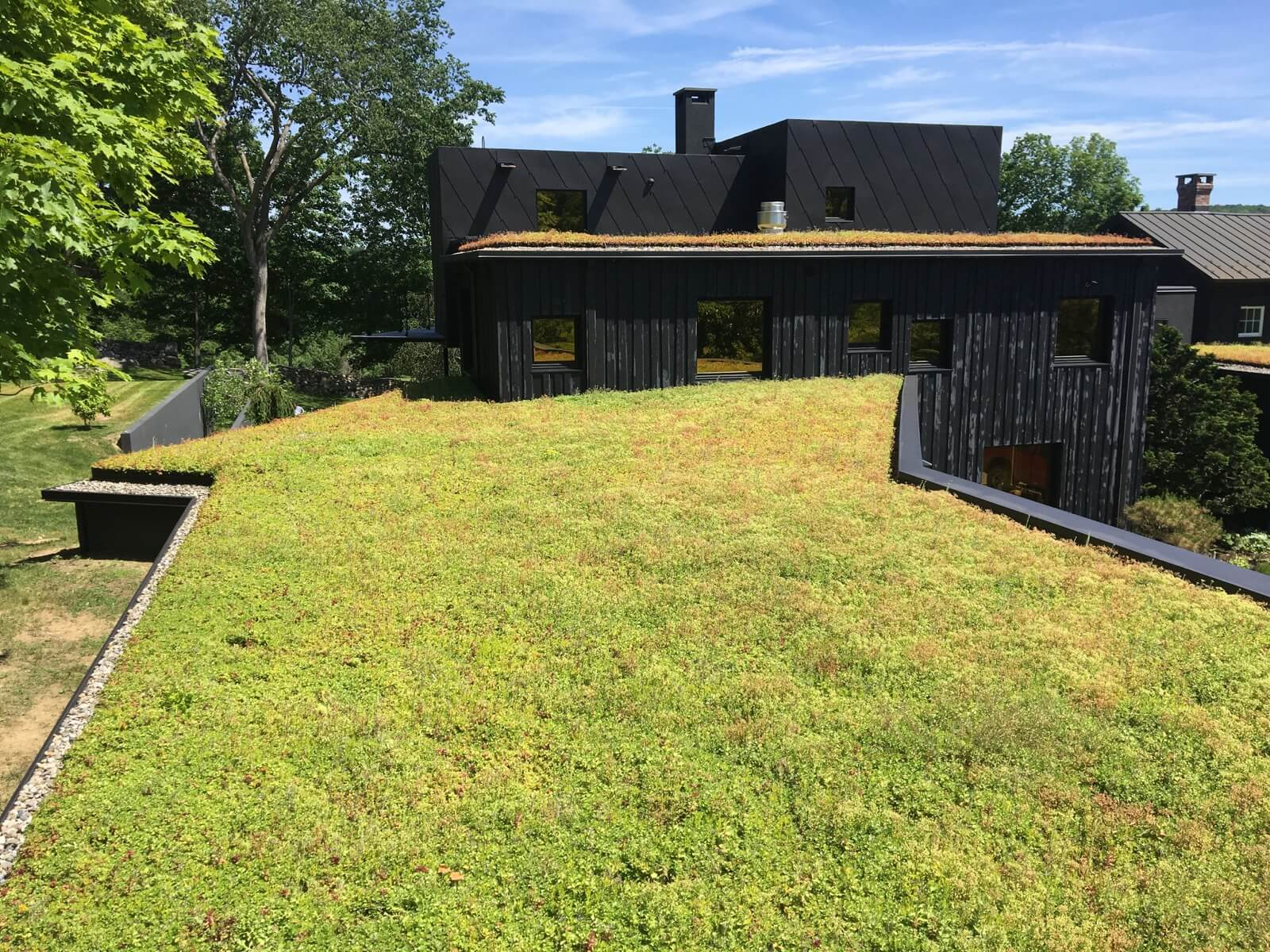 Highview Creations - Residential Green Roof for Roxbury, CT