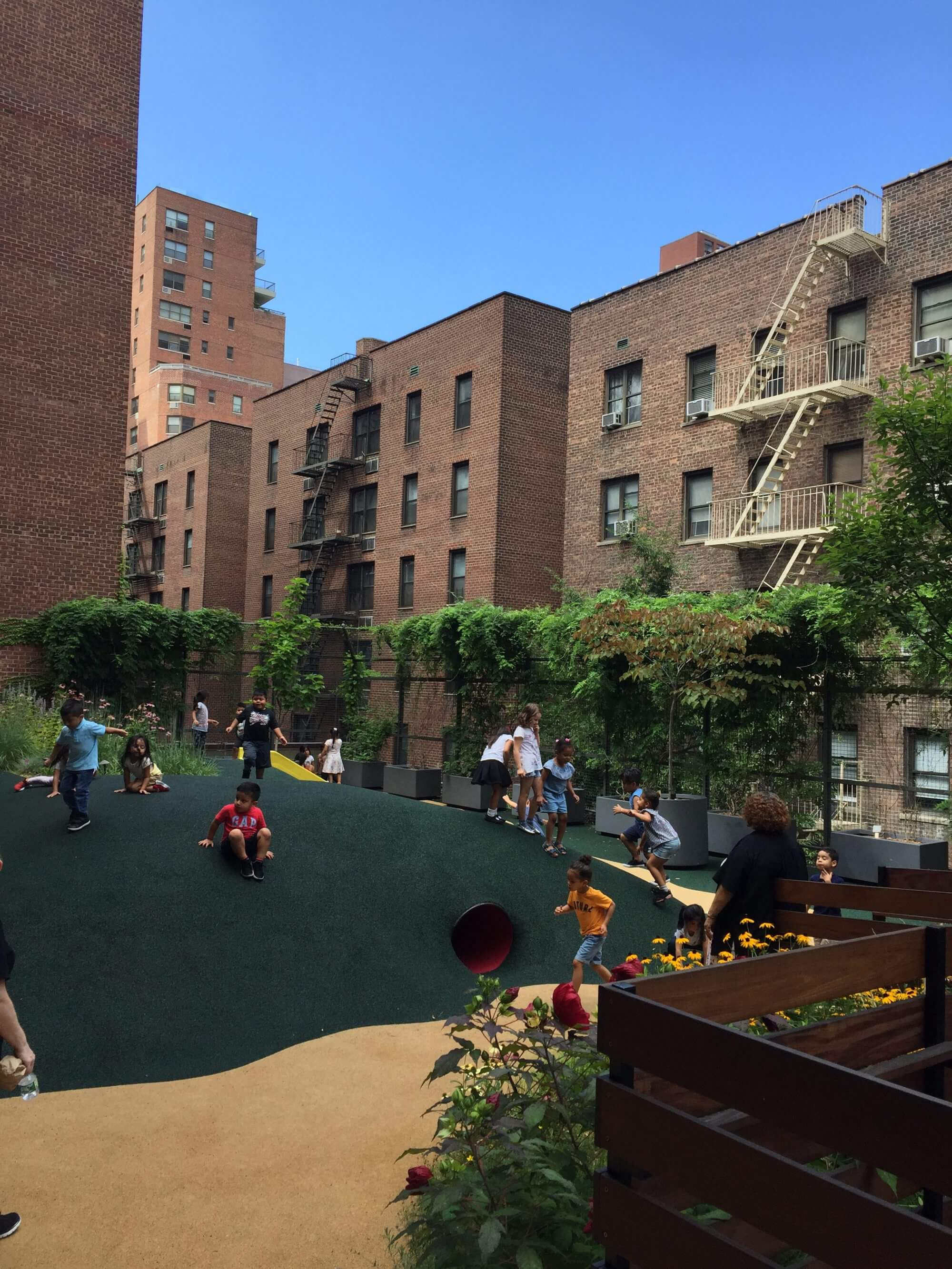 Highview Creations - Institutional Green Roof for Lenox Hill, Phase II