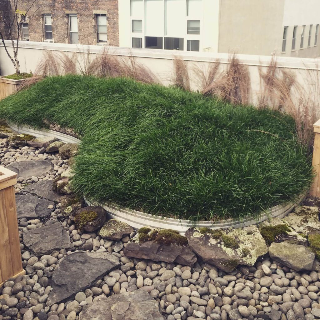 Marianne Boesky Gallery - NYC Rooftop Garden Design - Highview Creations